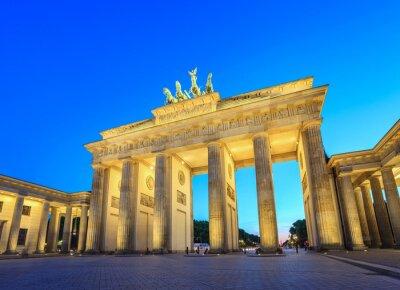Quadro Brandenburg Gate at night - Berlin - Germany