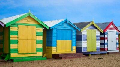 Quadro Brighton scatole Beach, Melbourne, Australia