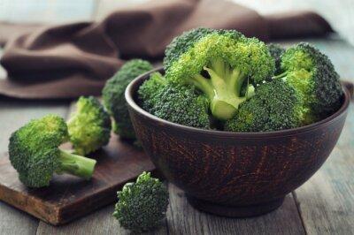 Quadro Broccolo verde fresco