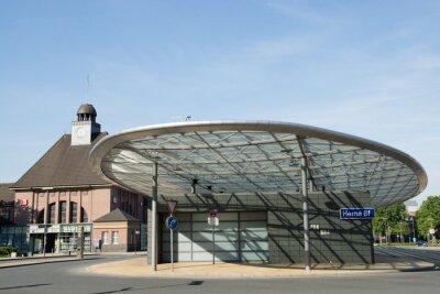 Quadro Busbahnhof a Herne, NRW, Deutschland