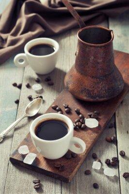 Quadro Caffè in tazze