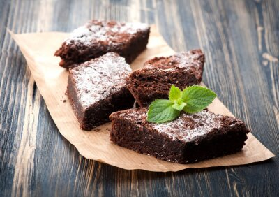 Quadro Cake chocolate brownie