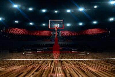 Quadro Campo da basket.