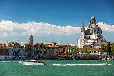 Quadro Canal Grande e la Basilica di Santa Maria della Salute, Venezia, Italia