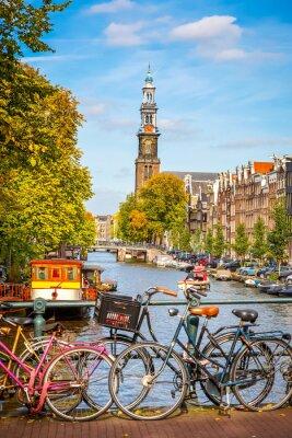 Quadro Canale Prinsengracht di Amsterdam