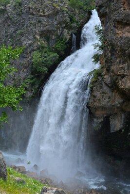Quadro Cascata Da scogliera alta