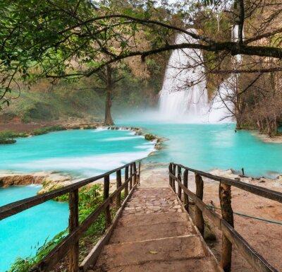 Quadro Cascata in Messico