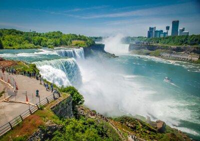 Quadro Cascate del Niagara