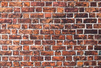 Quadro Cegła mur Gotyk tekstura