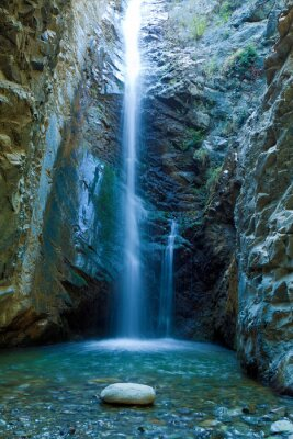 Quadro Chantara Cascate in montagna Trodos, Cipro