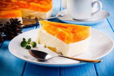 Quadro cheesecake di frutta