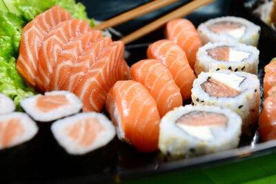 Quadro Cibo giapponese - sushi