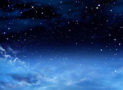 Quadro Cielo notturno con le stelle