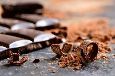 Quadro Cioccolata fondente