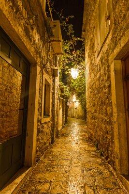 Quadro Città Vecchia a Budva in Montenegro