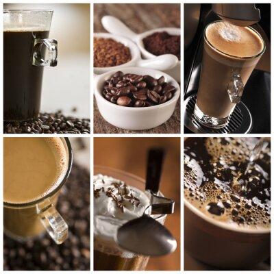 Quadro Coffee - un collage