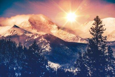 Quadro Colorado Mountains Vista