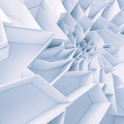 Quadro colore geometrica poligoni Abstract wallpaper