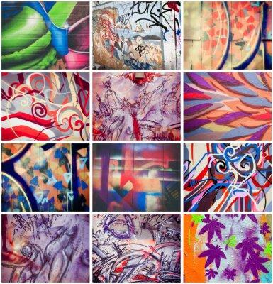 Quadro Colorés graffiti
