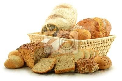Quadro Composizione con pane e panini