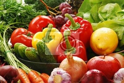 Quadro Composizione con verdure crude