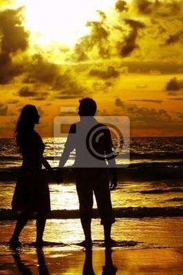 Quadro coppia romantica