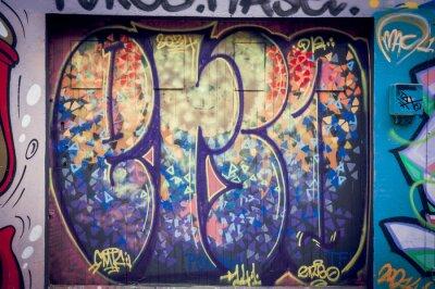 Quadro Couleurs Graffiti pétantes