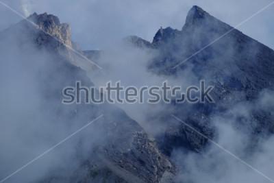 Quadro Cratere del Monte Merapi. Sleman Yogyakarta, Indonesia.