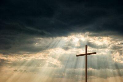 Quadro Croce di legno