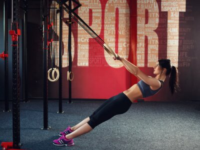 Quadro Crossfit workout on ring
