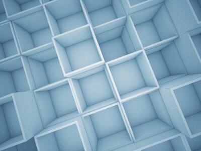 Quadro Cubo 3d astratto