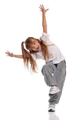 Quadro Dancing della bambina
