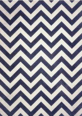 Quadro Dark Navy chevron blu e nero texture su bianco vecchio turbata sfondo design, zig-zag scuro, scanalato sfondo d'epoca
