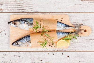 Quadro Delizioso pesce fresco.