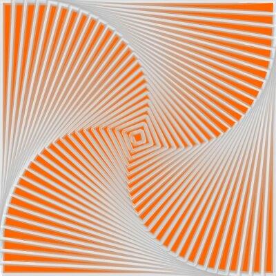 Quadro Design colorato volteggiare movimento illusione di fondo