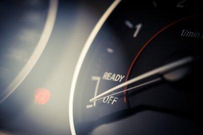 Quadro dettaglio contagiri di auto