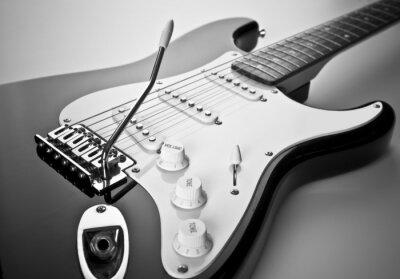 Quadro Dettaglio di chitarra elettrica