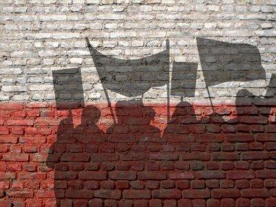 Quadro Dimostrazione in Polonia