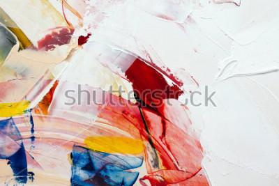Quadro dipinto astratto