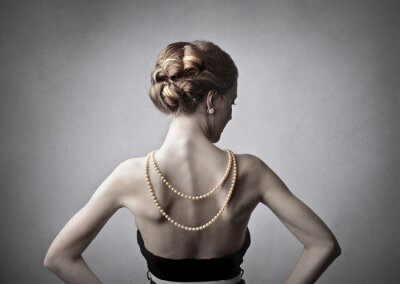 Quadro Donna elegante