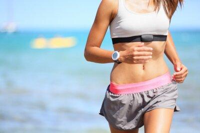 Quadro Donna Runner con cardiofrequenzimetro running