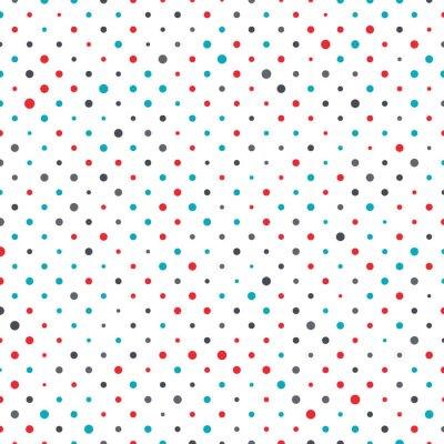 Quadro dot background colorato