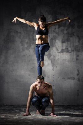 Quadro Due danzatori