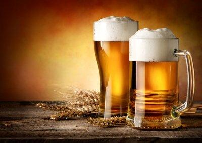 Quadro Due tazze di birra