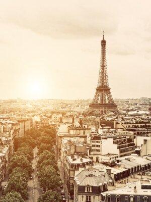 Quadro Eiffel dall'Arco di Trionfo