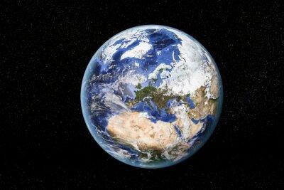 Quadro Elementi di questa immagine fornita dalla NASA