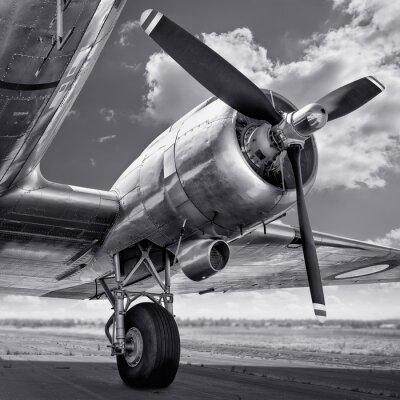 Quadro elica di un aereo