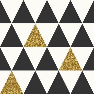 Quadro Estratto geometrico Seamless Pattern