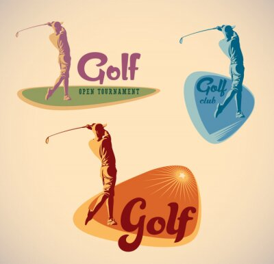 Quadro Etichette di golf