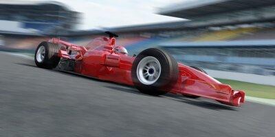 Quadro f1 racer Rennstrecke